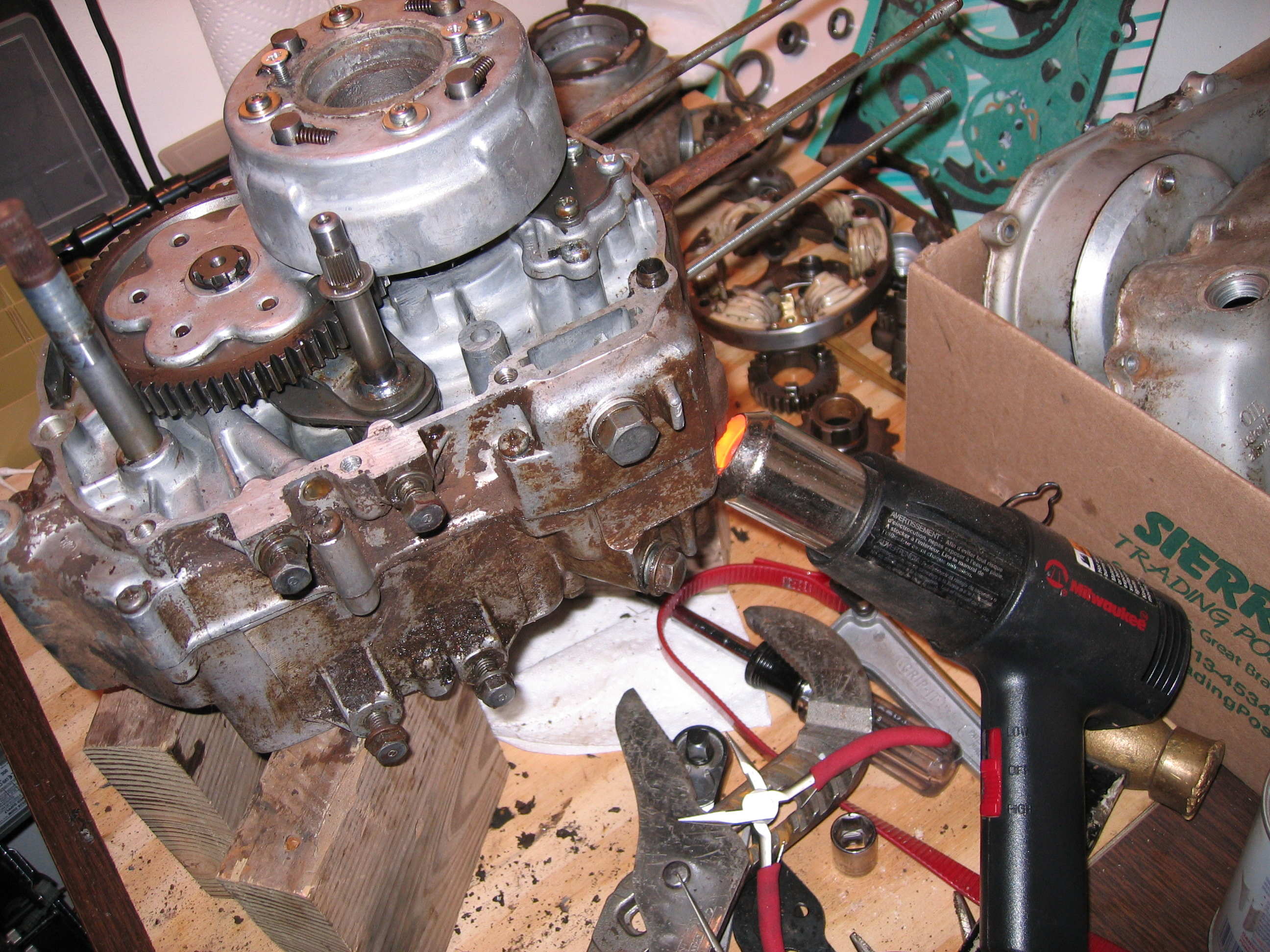 Honda Tl125 Wiring Diagram Electrical C 200 Xlr 125 R Sl70 Chopper