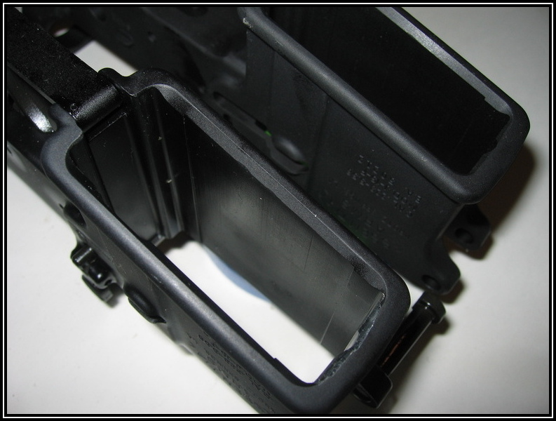 Essential Arms AR-15 Lower Receiver - Magazine Well modifications