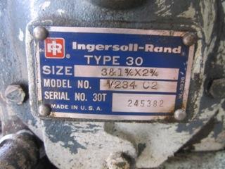 Ingersoll Rand Type 30 Model V234 C2